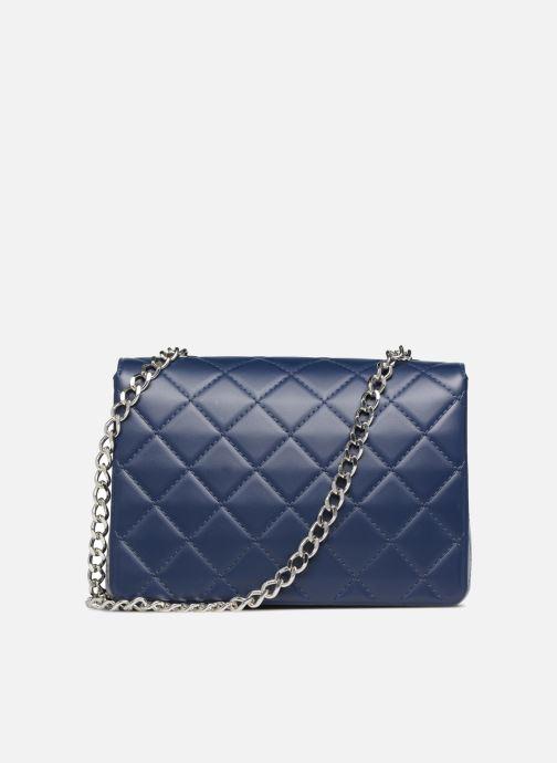 Handtaschen Designinverso Milano Blu blau ansicht von vorne