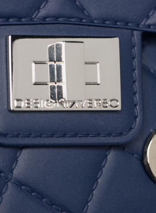 Handtaschen Designinverso Milano Blu blau ansicht von links