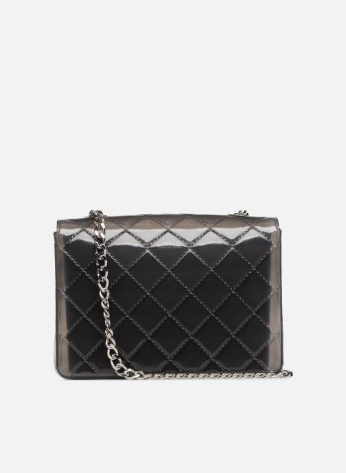 Handtaschen Designinverso Taormina Fumo grau ansicht von vorne