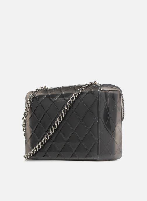 Handtaschen Designinverso Taormina Fumo grau ansicht von rechts