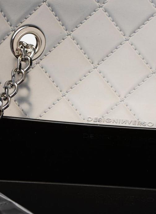 Handtaschen Designinverso Taormina Fumo grau ansicht von hinten