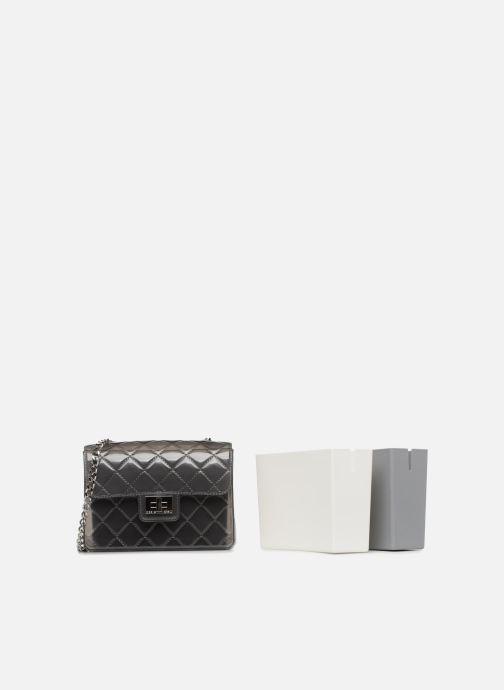 Handtaschen Designinverso Taormina Fumo grau ansicht von links