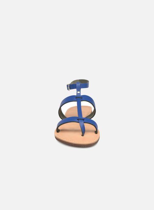 Sandales et nu-pieds Isapera AZALEA Bleu vue portées chaussures