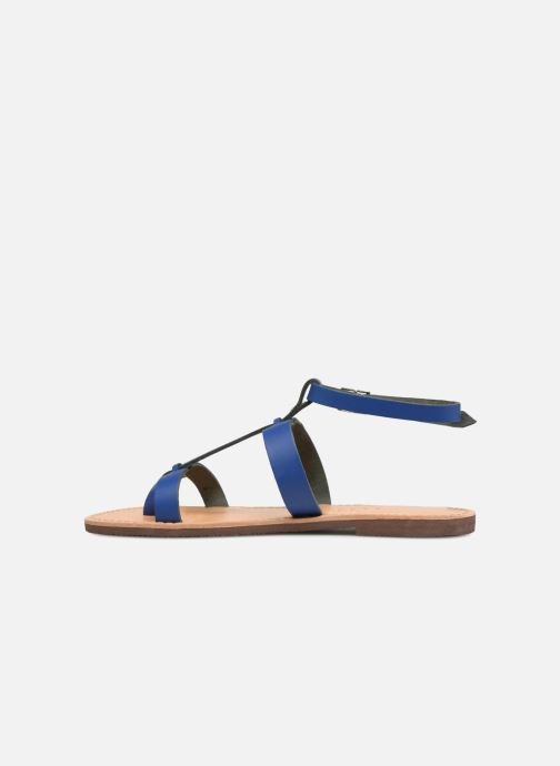 Sandales et nu-pieds Isapera AZALEA Bleu vue face