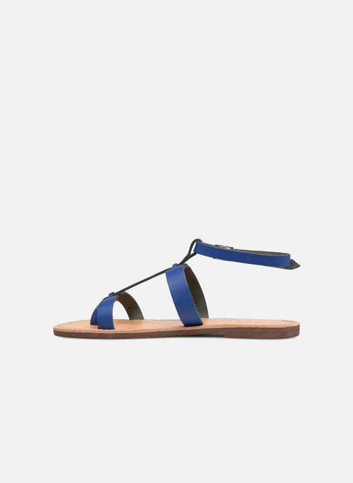 Sandalias Isapera AZALEA Azul vista de frente