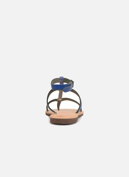Sandales et nu-pieds Isapera AZALEA Bleu vue droite