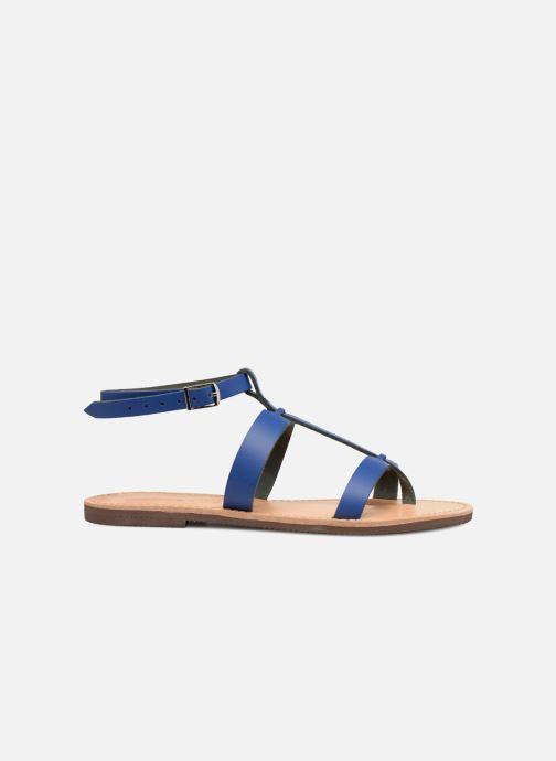 Sandales et nu-pieds Isapera AZALEA Bleu vue derrière