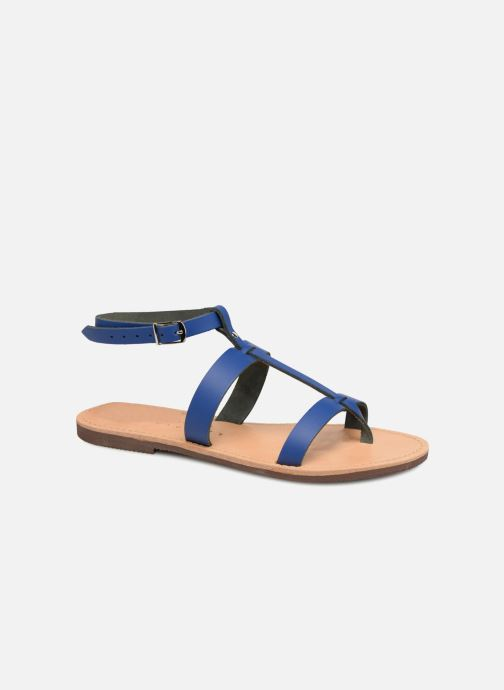 Sandals Isapera AZALEA Blue detailed view/ Pair view