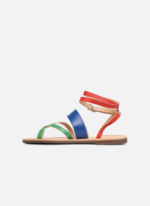 Sandales et nu-pieds Isapera WAVE Multicolore vue face