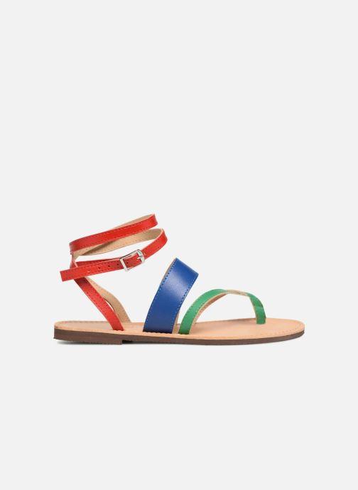 Sandales et nu-pieds Isapera WAVE Multicolore vue derrière