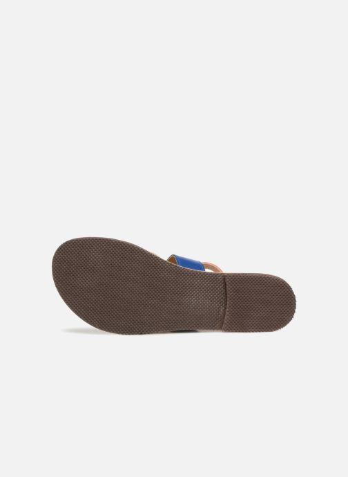 Sandales et nu-pieds Isapera WAVE Multicolore vue haut
