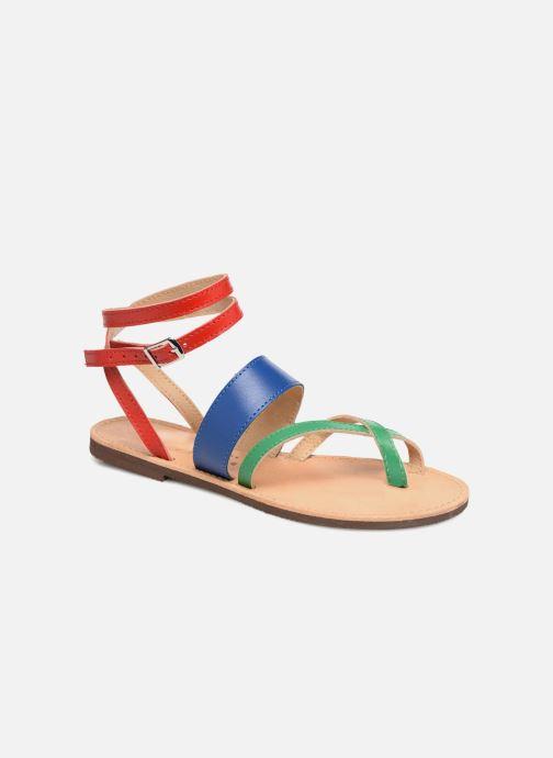 Sandales et nu-pieds Isapera WAVE Multicolore vue détail/paire