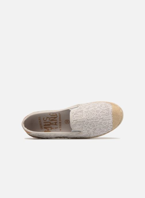 Espadrilles Mustang shoes 1245207/203 Ice grau ansicht von links