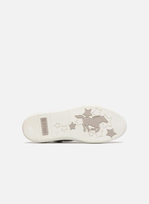 Trainers Mustang shoes 1268301/21 Silver Silver view from above