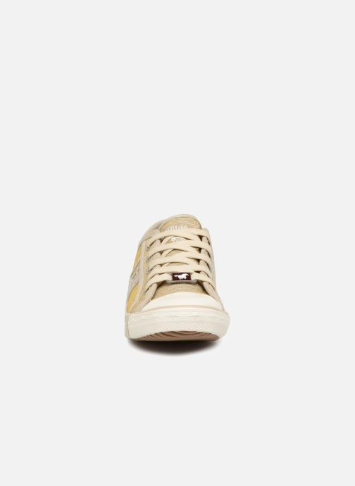Baskets Mustang shoes 5803308/480 Champagne Or et bronze vue portées chaussures
