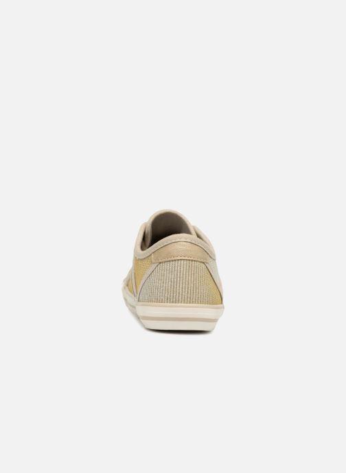 Baskets Mustang shoes 5803308/480 Champagne Or et bronze vue droite