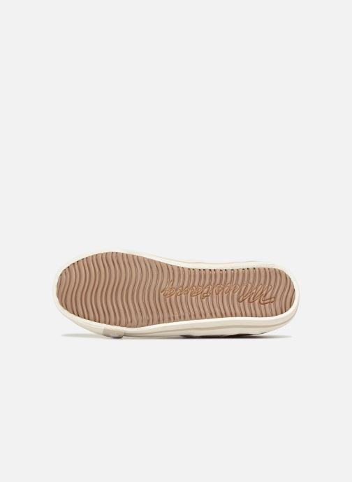 Baskets Mustang shoes 5803308/480 Champagne Or et bronze vue haut