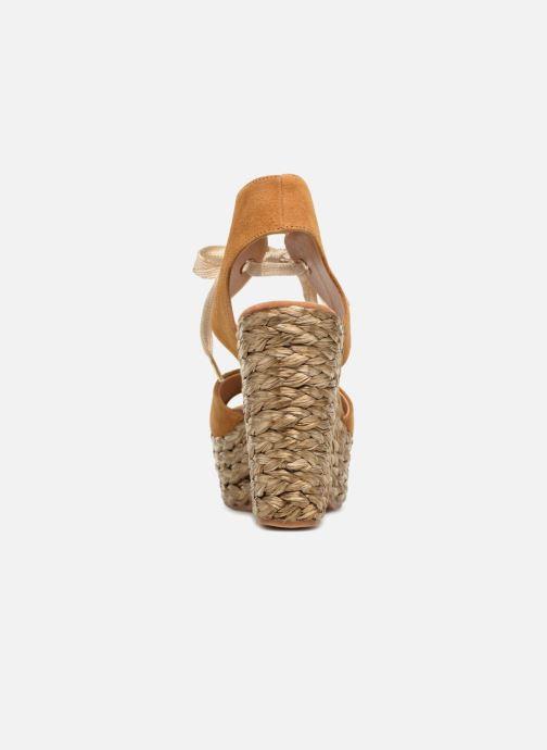 Sandales et nu-pieds Kanna KV7514 Marron vue droite