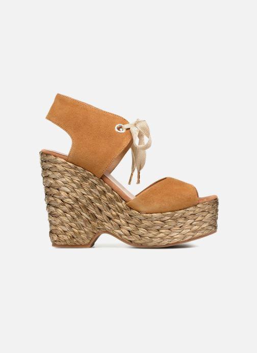 Sandales et nu-pieds Kanna KV7514 Marron vue derrière