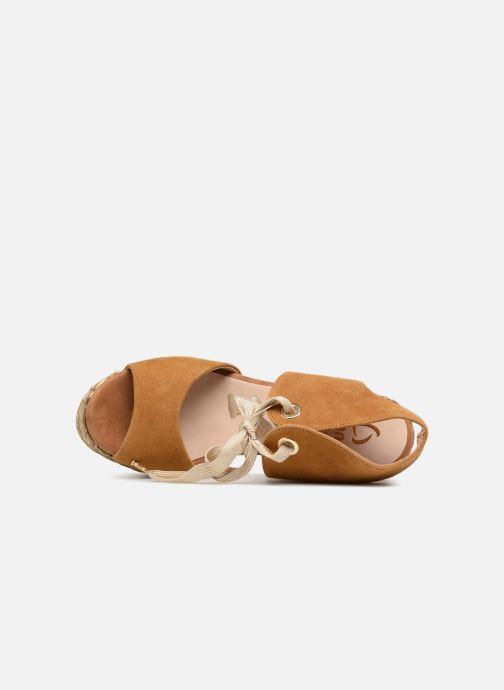 Sandales et nu-pieds Kanna KV7514 Marron vue gauche