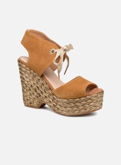 Sandales et nu-pieds Kanna KV7514 Marron vue détail/paire