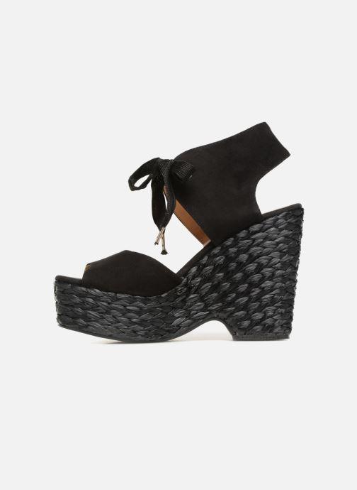 Sandales et nu-pieds Kanna KV7514 Noir vue face