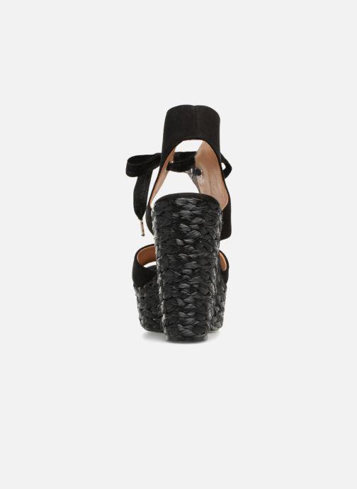 Sandales et nu-pieds Kanna KV7514 Noir vue droite