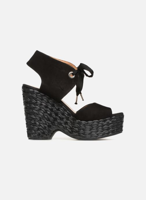 Sandales et nu-pieds Kanna KV7514 Noir vue derrière