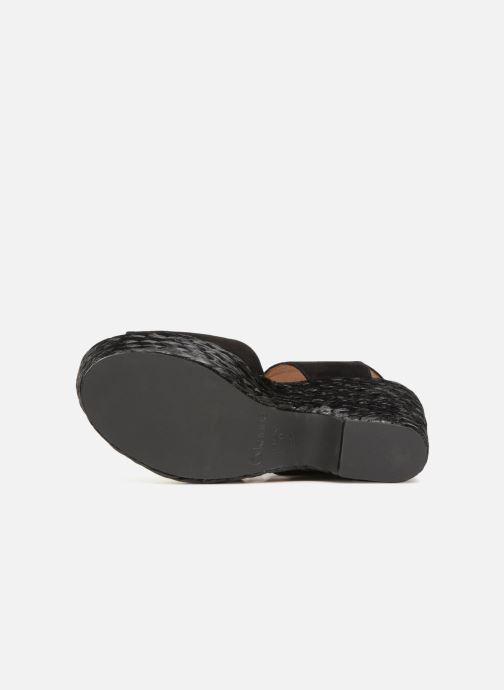 Sandales et nu-pieds Kanna KV7514 Noir vue haut