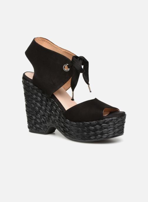Sandales et nu-pieds Kanna KV7514 Noir vue détail/paire