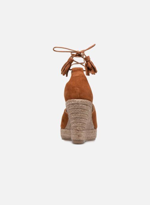 Sandales et nu-pieds Kanna KV7141 Marron vue droite