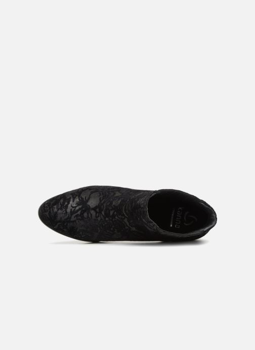 Bottines et boots Kanna KI6640 Noir vue gauche