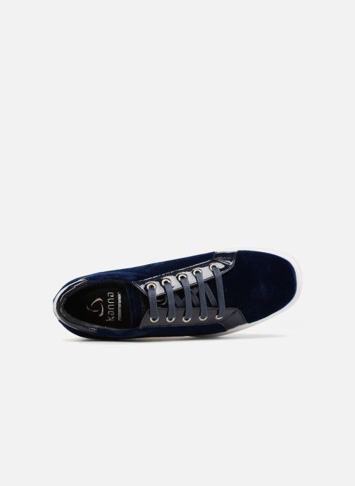 Sneaker Kanna KI7840 blau ansicht von links