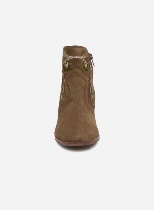 Bottines et boots Kanna KI7792 Vert vue portées chaussures