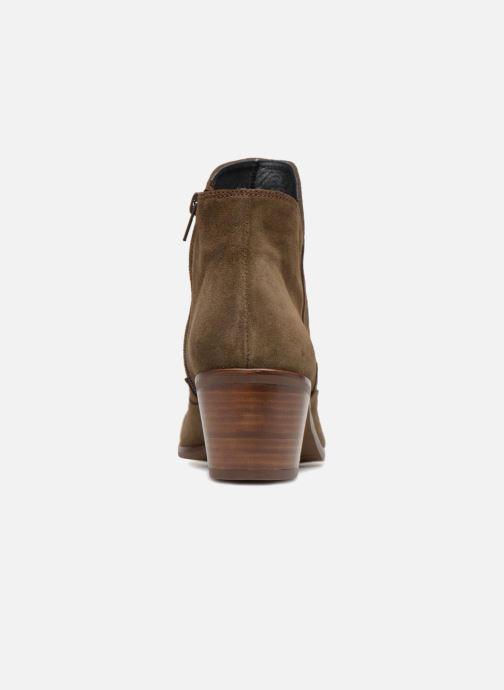 Bottines et boots Kanna KI7792 Vert vue droite