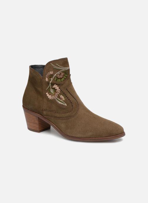 Bottines et boots Kanna KI7792 Vert vue détail/paire
