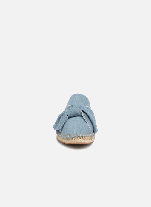 Mules et sabots KG By Kurt Geiger NIAMH Bleu vue portées chaussures