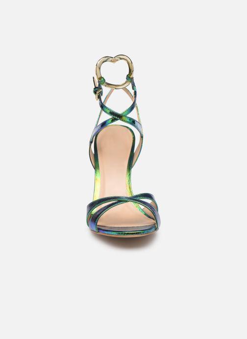 Sandales et nu-pieds KG By Kurt Geiger JINA Vert vue portées chaussures