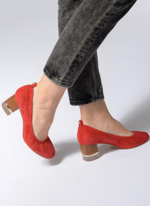 High heels KG By Kurt Geiger ESSENCE Red view from underneath / model view