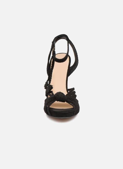 Sandales et nu-pieds KG By Kurt Geiger HOAX Noir vue portées chaussures