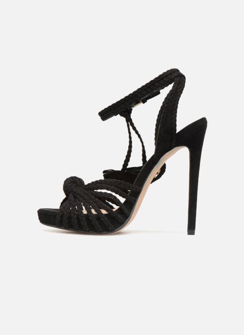 Sandals KG By Kurt Geiger HOAX Black front view