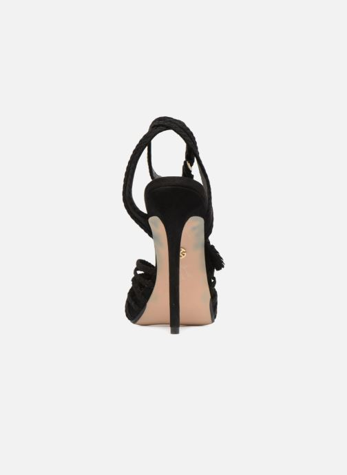 Sandals KG By Kurt Geiger HOAX Black view from the right