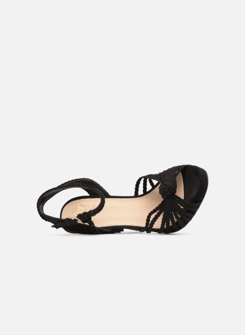 Sandals KG By Kurt Geiger HOAX Black view from the left