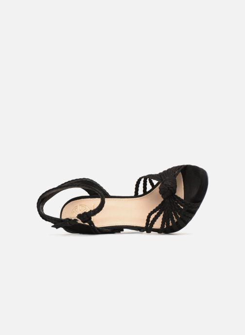 Sandales et nu-pieds KG By Kurt Geiger HOAX Noir vue gauche