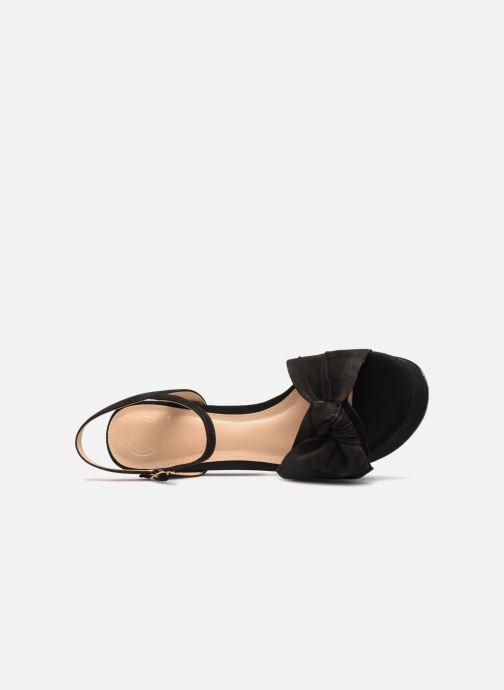 Sandales et nu-pieds KG By Kurt Geiger IONA Noir vue gauche