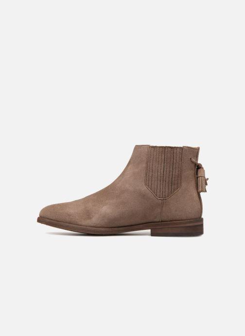 Woman Schmoove Taupe Dark Bottines Et Boots Chelsea I7ybfvgY6