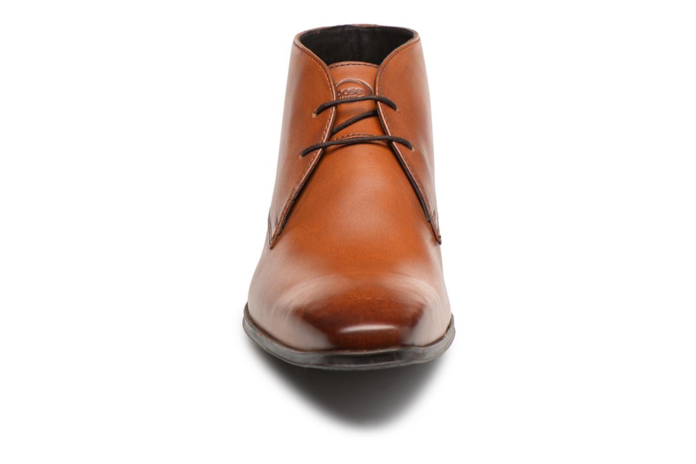 Bottines et boots Base London FOYLE Marron vue portées chaussures