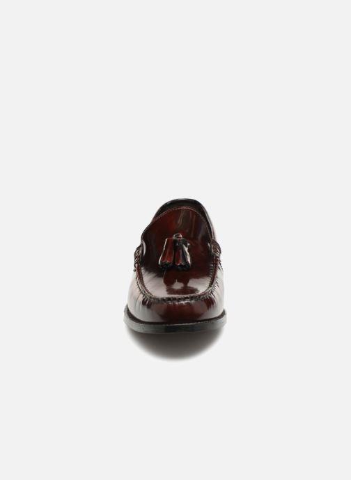 Mocassins Base London CHIME Bordeaux vue portées chaussures