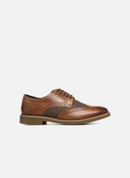 Zapatos con cordones Base London ROTHKO Marrón vistra trasera