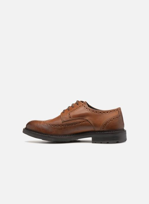 Zapatos con cordones Base London TREAD Marrón vista de frente